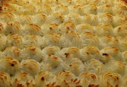 Piped Shepherd's Pie