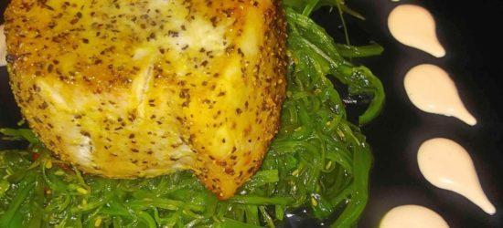 Lemon Pepper Swordfish