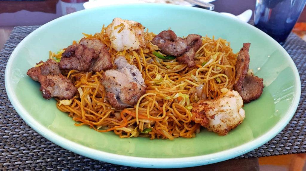 pan fried noodles dish