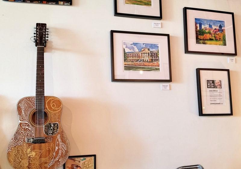 artistic design guitar