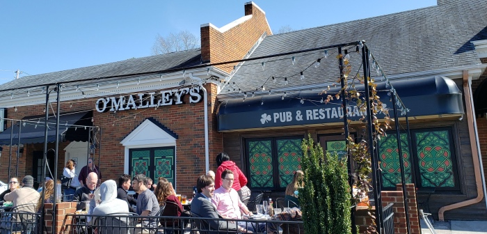 O'Malley's pub and restaurant raleigh