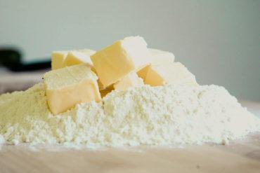 flour butter baking