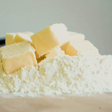 flour butter baking