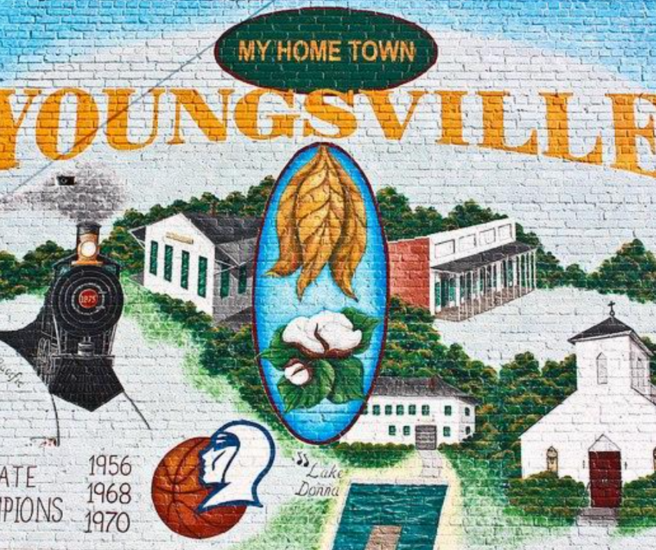 youngsville nc mural