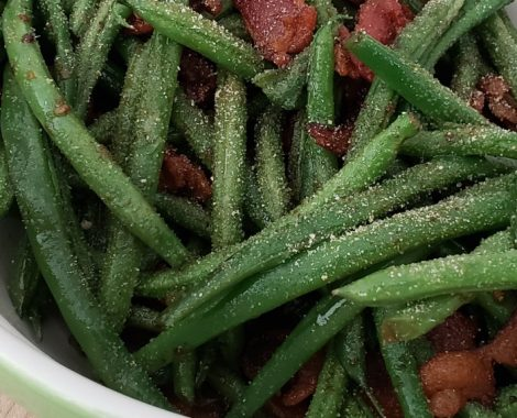 Green Beans w Bacon